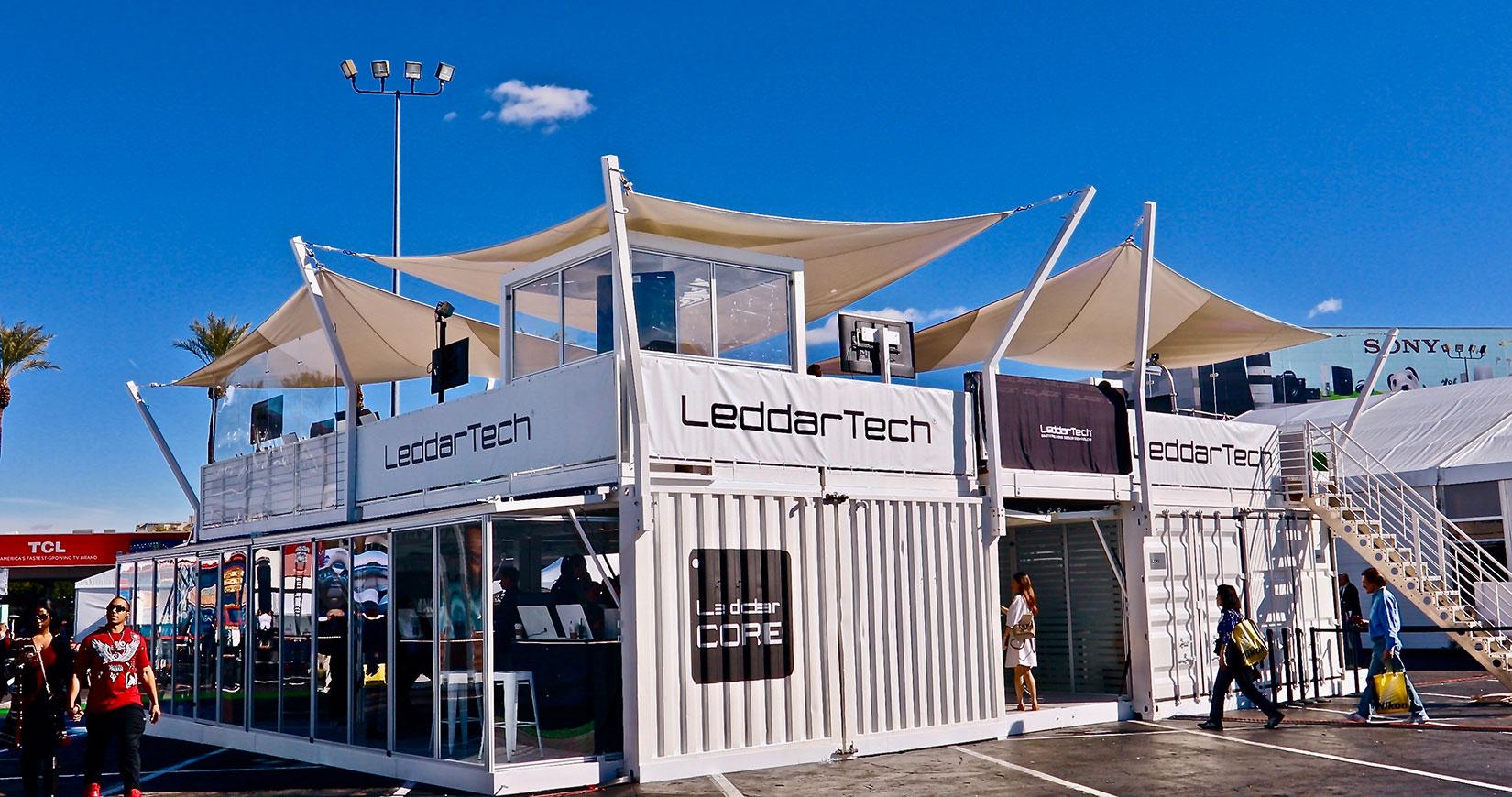 Leddartech Turning heads in Las Vegas