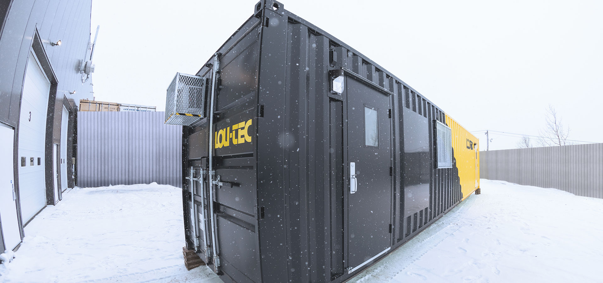 Loutech mobile shipping container offices